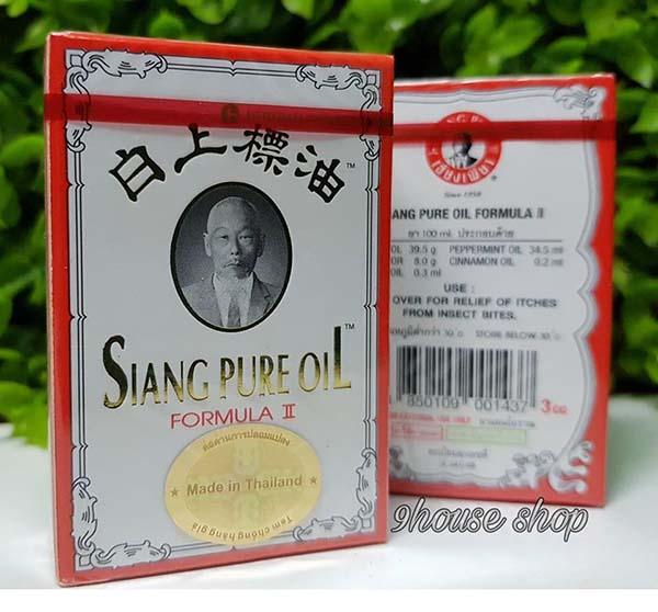 Dau gio Siang Pure oil  Thai Lan