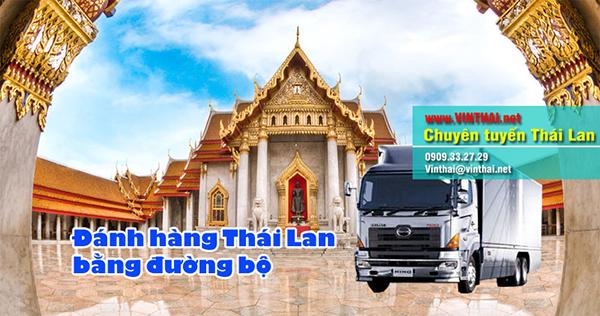 Đánh hàng Thái Lan bằng đường bộ
