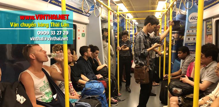 Tàu điện ngầm ở Thái Lan