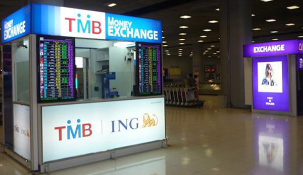 Đổi tiền ở Thái Lan