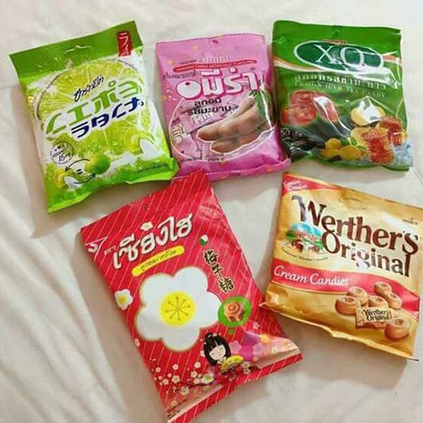 Kẹo Thái Lan ngon