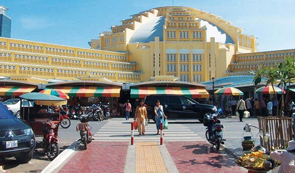Vận chuyển hàng Xampuchia về Việt Nam