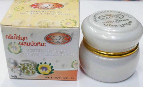 Kem trị nám Thái Lan Nano Pearl