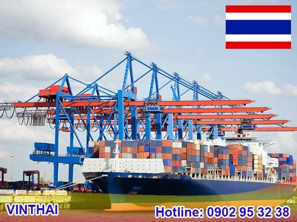 Vận chuyển hàng Thái Lan bằng đường biển có chi phí tiết kiệm