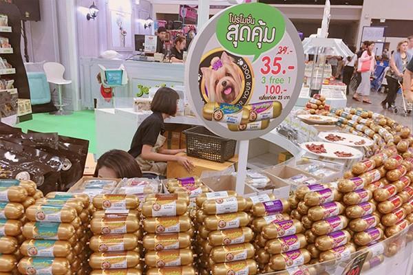 nguồn hàng sỉ thức ăn chó mèo